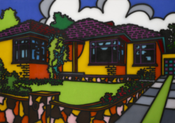 Howard Arkley_Triple Fronted_1987